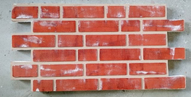 Panouri imitatie caramida exterior TECHSTONE RED ANTIC CREM 100 x 50 x 5 cm