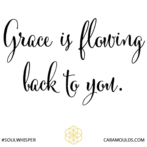 grace is flowing back to you
