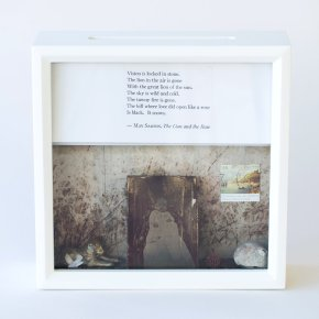 Tiny Writes May Sarton Poetry Shadowbox