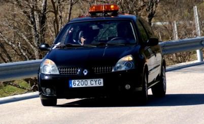 Coche seguridad RallySprint canencia carandgas