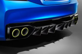 Subaru WRX paragolpes