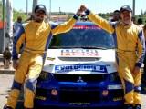 Angel Domenech y Rodrigo SanJuan RallySprint Arganda Victoria