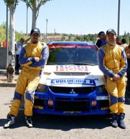 Angel Domench y Rodrigo Sanjuan RallySprint Arganda CAR and GAS