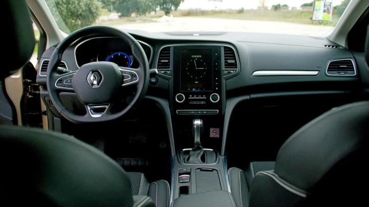 Megane ST DCI 110 EDC interior