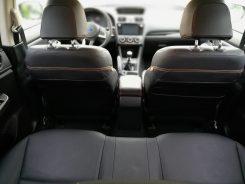 Subaru XV Boxer Diesel espacio plazas traseras
