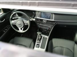 Interior Kia Optima PHEV