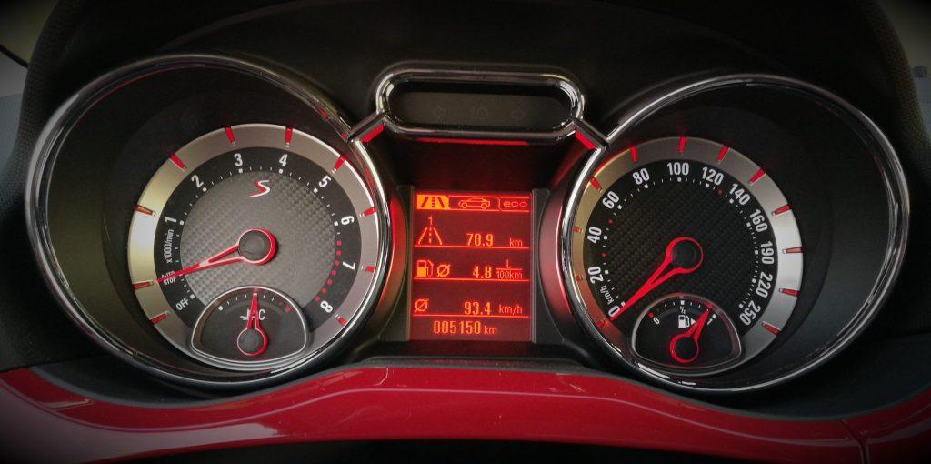 Relojes Opel Adam S