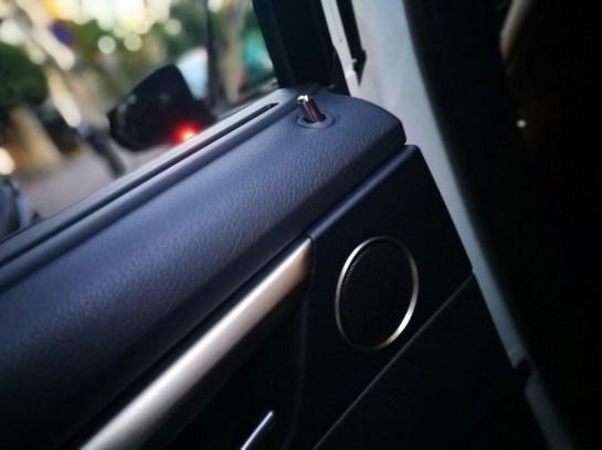 Detalle puerta Lexus Rx450h