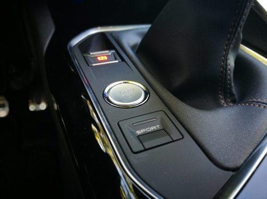 Botón Modo Sport Peugeot 5008 GTLine