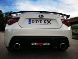 Trasera Subaru BRZ 2017
