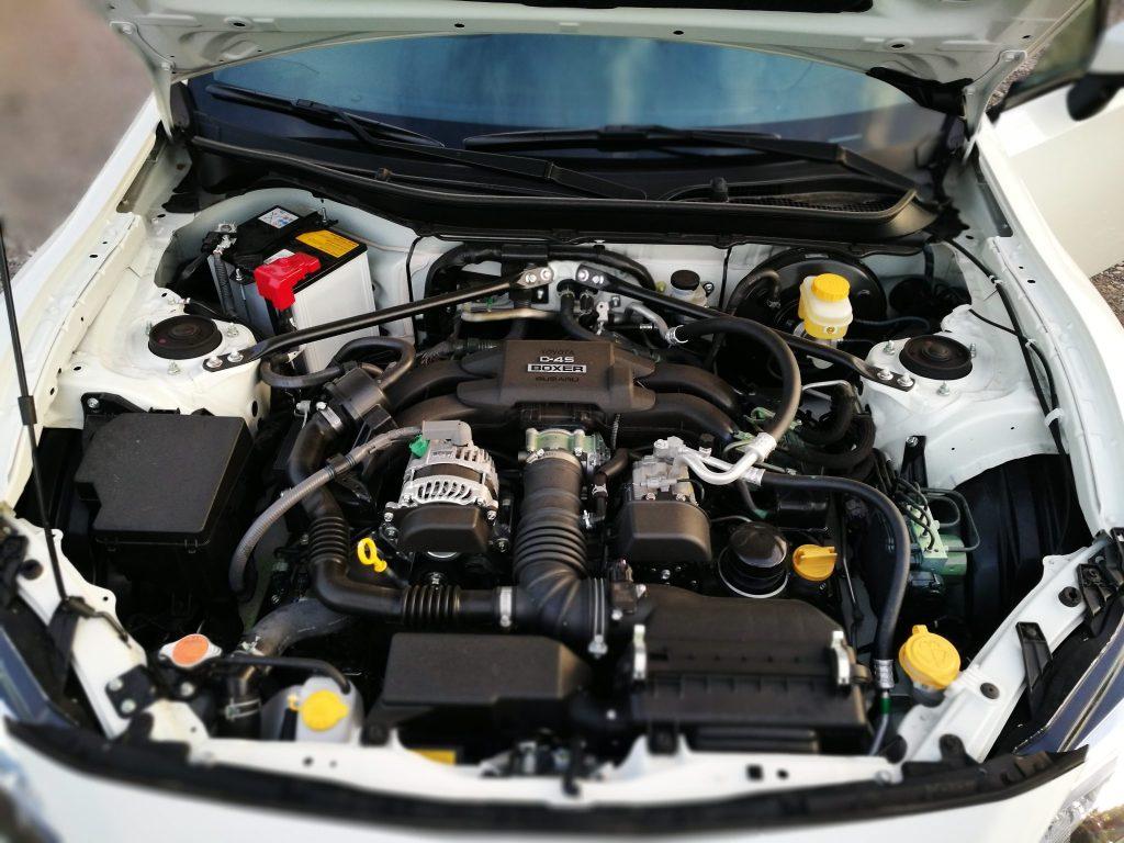 Motor Boxer Subaru BRZ