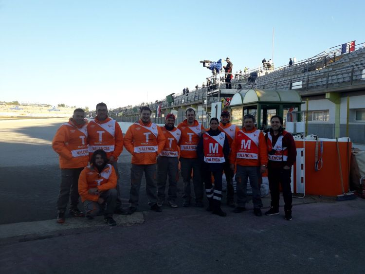 Comisarios MotoGP Circuito Ricardo Tormo