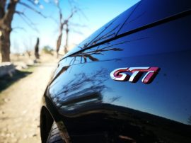 Emblema lateral GTI