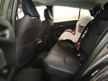 Espacio plazas traseras Prius