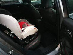 Espacio plazas traseras 308 SW GT