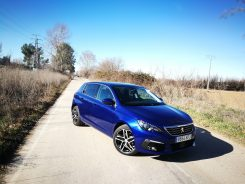 Lateral Peugeot 308 Allure
