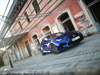 Lexus RC F CAR and GAS