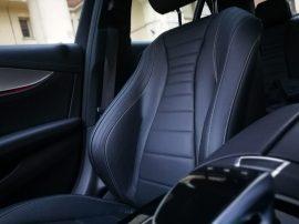 Mercedes Benz Clase E 220D detalle asiento