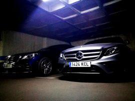 Mercedes Benz Clase E 220D luz garaje