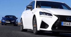 Lexus RC F vs Lexus GS F Jarama