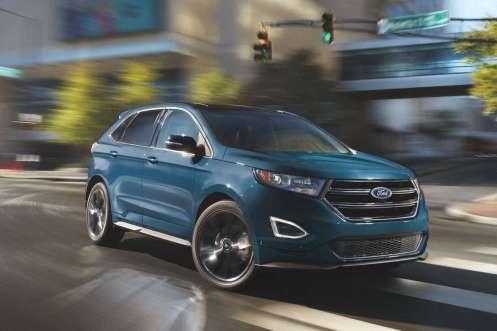 Ford Edge - Tracción