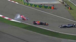 Maniobra Mad Max vs Vettel