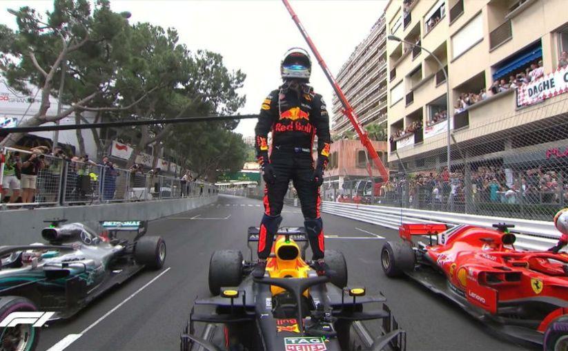 Ricciardo GP Monaco