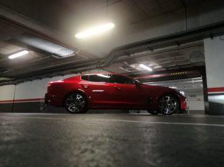 Kia Stinger GT - Lateral