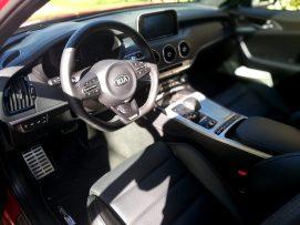 Kia Stinger GT - Interior