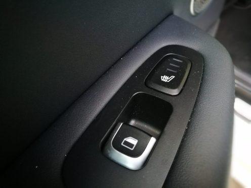 Calefacción asientos traseros