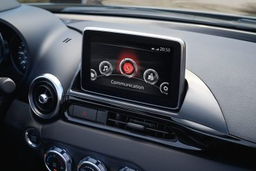 Sistema multimedia Fiat 124 Spider