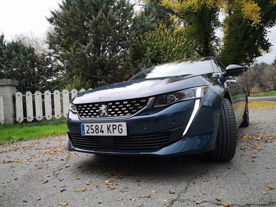 Frontal nuevo Peugeot 508