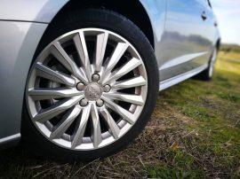 Llantas 15 radios exclusivas del Audi A3 Sportback e-tron