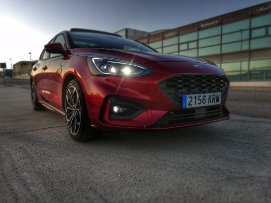Frontal Ford Focus ST-Line