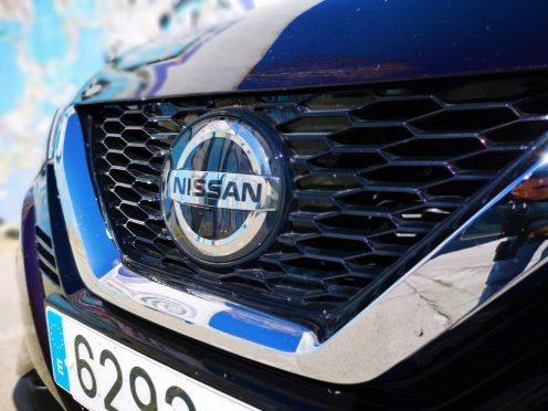 Radar Nissan Qashqai 2019 camuflado en el logo
