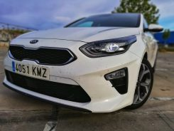 Frontal Kia Ceed Launch Edition