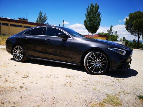 Silueta Mercedes CLS