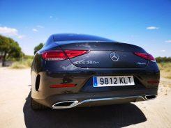 Trasera Mercedes CLS 350 d