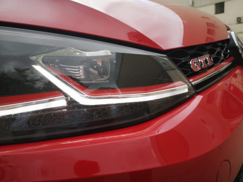 Golf GTI TCR - Óptica- CAR and GAS