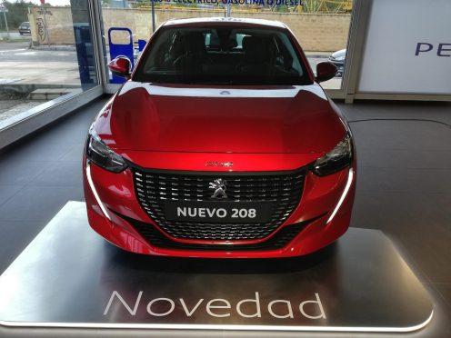 Frontal Nuevo Peugeot 208 Allure
