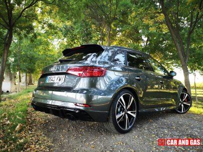 Trasera Audi RS3