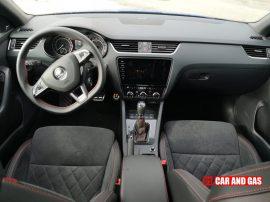 Interior Skoda Octavia RS TDI