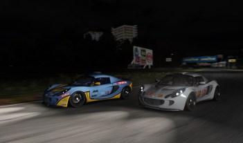 Carrera nocturna Lotus exige 240 s3 - Simulador Assetto Corsa