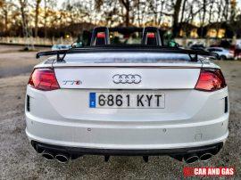 Alerón Pack Competition - Audi TTS Roadster