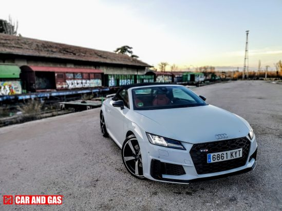 Vista general Audi TTS Roadster