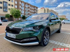 2 Lateral Skoda Superb Scout