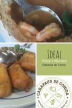 Restaurante Ideal   Cabanas de Tavira   Carapaus de Comida