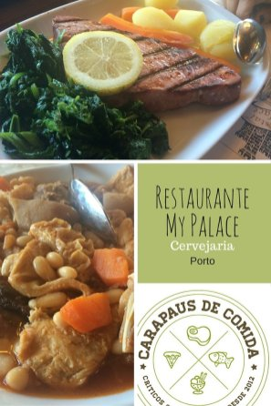 Restaurante My Palace | Porto | Carapaus de Comida