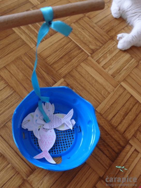 DIY igra za decu - pecanje