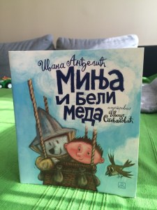 Minja i beli meda - knjiga za decu